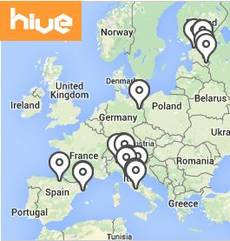 Map HIVE